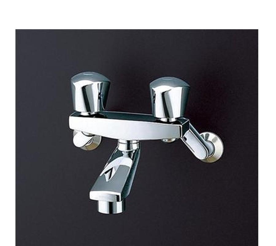 【TMH20-1A】TOTO壁付2ハンドル混合水栓(整流、共用)