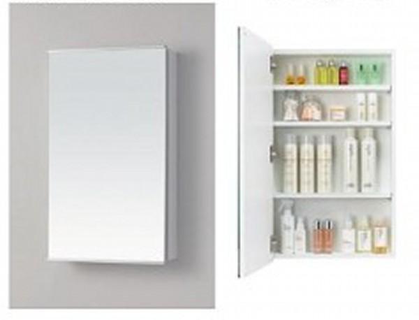 ミラーキャビネット 木製 一面鏡 照明なし MM450N  W600 D137 H800 洗面 アサヒ衛陶