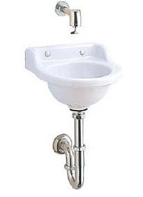 ジャニス 平付小形手洗器 L81D 排水仕様:床  送料無料 在庫有りなら即日出荷可能 洗面 洗面器 手洗 手洗器 小型 沖縄、北海道、離島はご注文不可