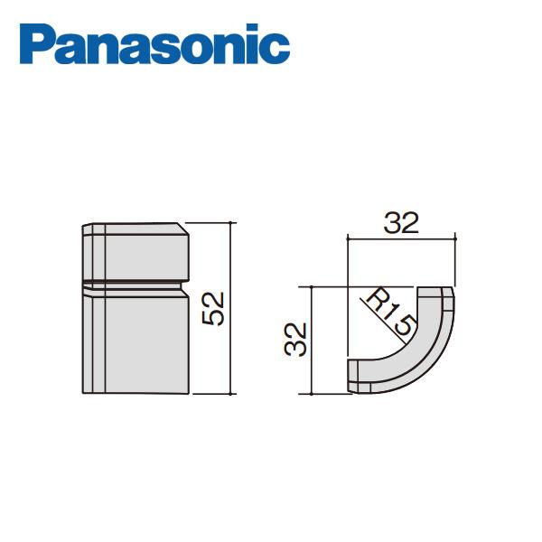 パナソニック Rコーナーキャップ 幅木5型用 QPE115ARY 大決算セール 激安通販専門店 Panasonic 10個入