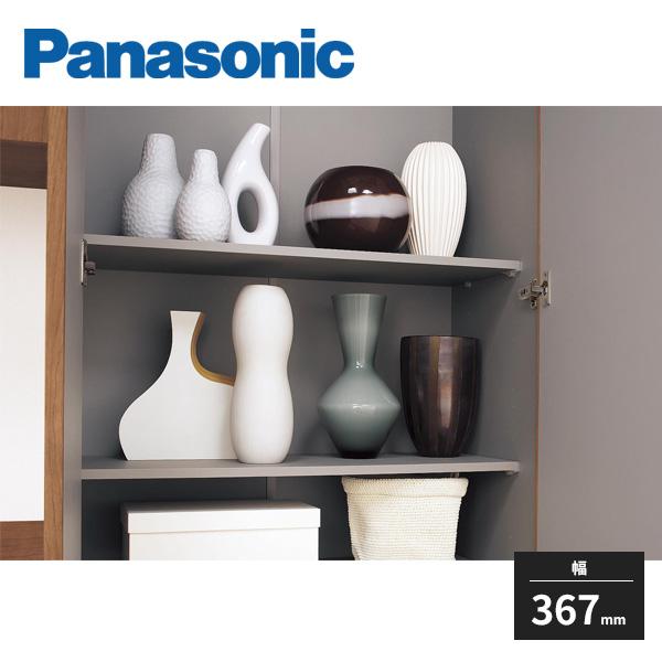 パナソニック お気に入り 玄関用収納 コンポリア 木製棚板 1.5型 1入 QCE2TWN11 Panasonic 卓越 幅367mm