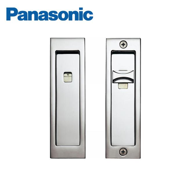 パナソニック 内装ドア 送料無料 予約販売 激安 お買い得 キ゛フト 角型引手 C1型 間仕切錠 クローム色 MJE1PC12CM Panasonic
