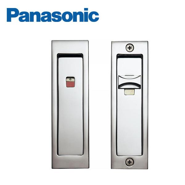 パナソニック 内装ドア 激安超特価 角型引手 C1型 Panasonic ●手数料無料!! クローム色 MJE1PC14CM 表示錠