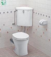 TOTO CS140P+S670BU (便器とロータンクのみのセット) 手洗付 腰掛式便器 組み合わせ便器