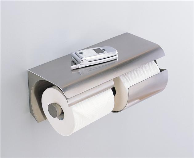 TOTO YH150LS  スペア付紙巻器(横型両減り防止タイプ) 300×137×136  ステンレス製