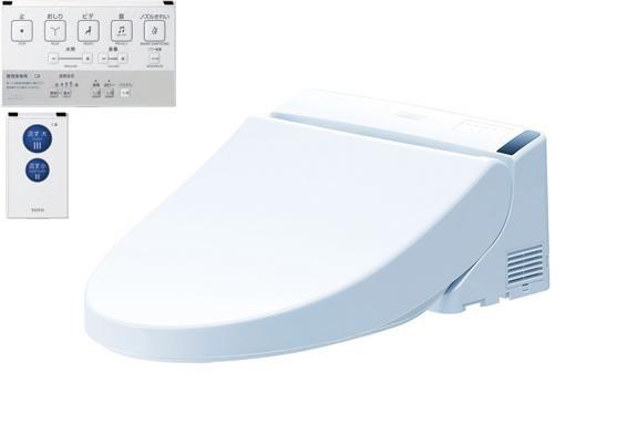 【地域により別途送料有】【送料無料】TOTO TCF5513AB フラッシュバルブ式便器用 便ふたあり 乾電池リモコン タッチスイッチ PS1A オート便器洗浄タイプ