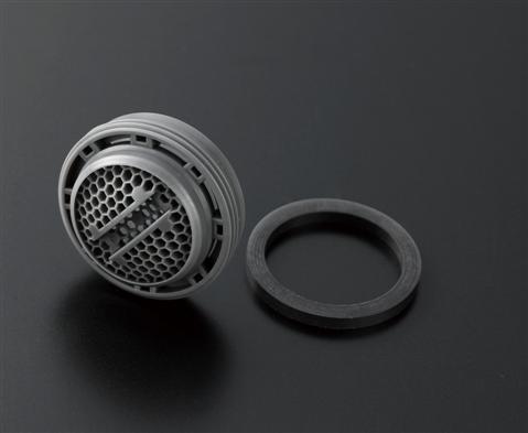 メール便対応可 TOTO 割引も実施中 THYB68-1 引出物 M24×1.0 内ねじ水栓用 泡まつキャップ