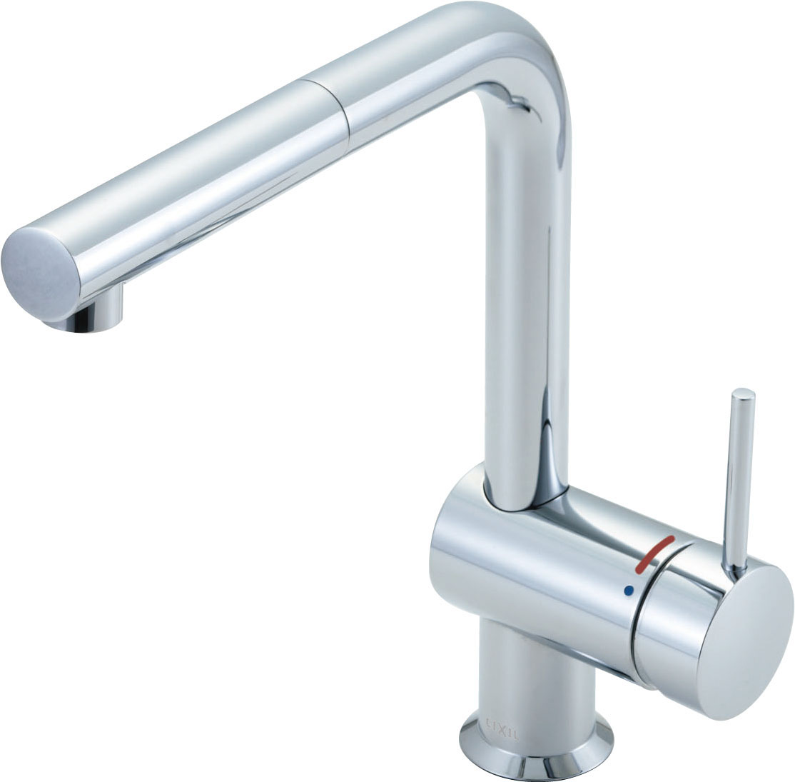 【送料無料】LIXIL(INAX) イナックス SF-E546SY キッチン用水栓金具(吐水口引出式) eモダン(Lタイプ) ホース引き出し長さ約40cm 逆止弁付 SF-546Sの後継品 キッチン用水栓金具