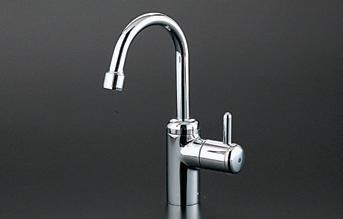 TOTO TL155AFR 自在水栓(泡まつキャップ付き)立水栓 ハンドル回転角度:120° 一般地・寒冷地共用 ソフト接続ねじ径13mm 109mm レバーφ28【洗面所用水栓】 3