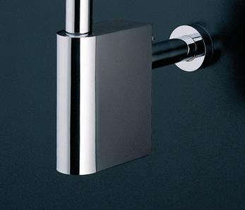 TOTO TN115 排水カバー 32ミリ用 ※ 写真は排水金具(Pトラップ)に排水カバーを付けたもの。※ 排水金具(Sトラップ)には取り付けられません。