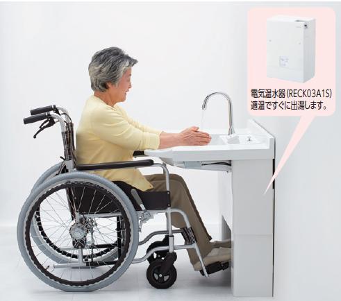 新発売の 【送料無料 ECK03A1SS61AK】TOTO ECK03A1SS61AK ワンプッシュ 自動水栓湯水切り替えタイプ ワンプッシュ, セイヨシ:33d0ac28 --- greencard.progsite.com