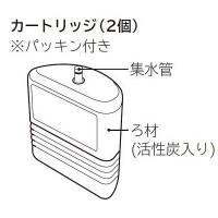 【送料無料】日立 浄水器用 交換カートリッジ E-25X (2個入り・1台分) 【対応機種:PE-25W PE-25V PE-25S PE-25NS】 【asano】