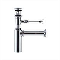 LIXIL(INAX) LF-701PAC 壁排水ボトルトラップ(排水口カバー付)(引き棒無し) ポップアップ式排水金具(呼び径32mm)