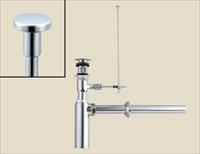LIXIL(INAX) LF-706PACU 壁排水ボトルトラップ(排水口カバー付) ポップアップ式排水金具(呼び径32mm)