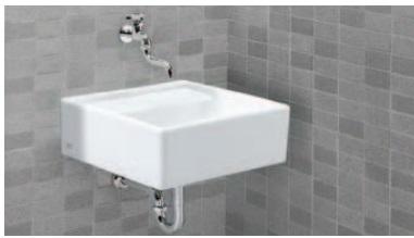 【送料無料】LIXIL INAX S-531B+LF-12(100)-13 +LF-30SAL+SF-10E+LF-6L コンパクトシンク(床排水金具・水栓金具など)セット