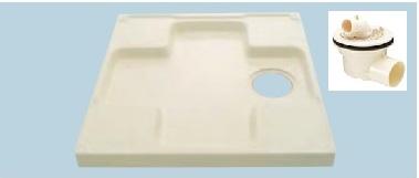LIXIL INAX イナックス洗濯機パン(排水トラップ付)PF-6464AC/L11+TP-52(旧TP-32)【代引不可】【トラップ以外同梱不可】