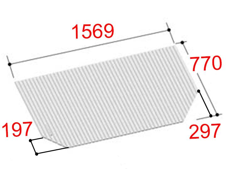 LIXIL 風呂フタ 巻きフタ[BL-SC77157-R]