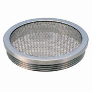 【地域により別途送料有】ミヤコ 排水部材  M18CS ステンレス防虫目皿 寸法100