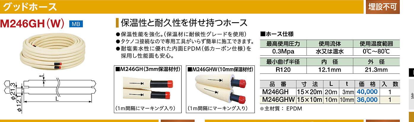 ミヤコ グッドホース M246GH(W) 15×10M