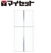 【メーカー直送にて送料無料】マイセット MYSET Y3-80TUS+Y3-80FT (80X35.8X70cm)+(80X35.8X110cm) 玄関収納 トールユニット