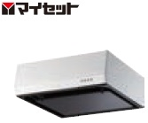 【メーカー直送にて送料無料】マイセット MYSET MY-3G-751(排気方向R) (75X60X20cm) 平型レンジフード
