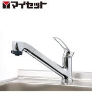 【メーカー直送にて送料無料】マイセット MYSET SCJ-60WE シャワー引出水栓(上面施工タイプ)