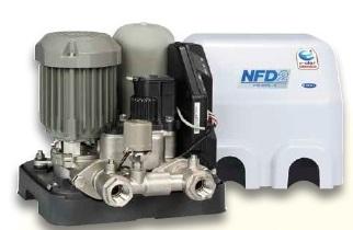 【メーカー直送にて送料無料】川本ポンプ NFD2-150S 給水補助加圧装置 単相100V 150W 口径20ミリ