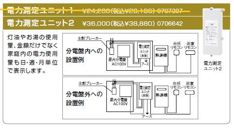 ノーリツ(NORITZ) 電力測定ユニット2 商品コード0706642