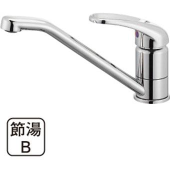 三栄水栓 SANEI  シングルワンホール混合栓 品番:K87110JV-S 呼び:13 商品番号:K87110JV-S-13