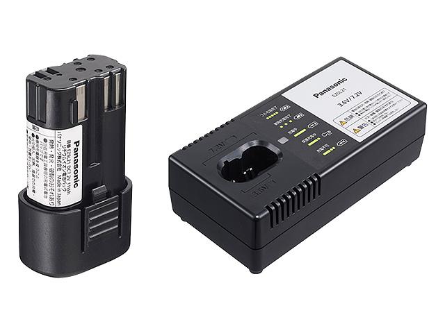 パナソニック 7.2V電池パック・充電器セット品 EZ9L21ST
