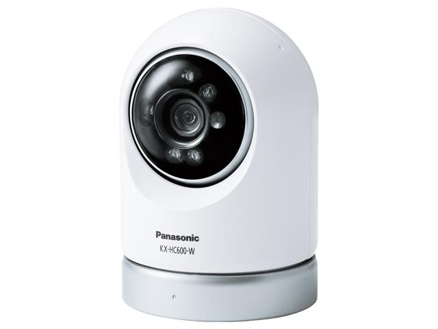 パナソニック 屋内スイングカメラ(ホワイト)KX-HC600-W
