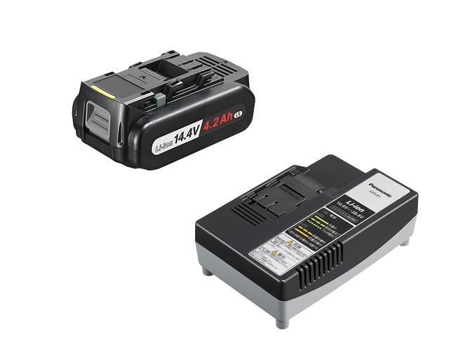 パナソニック リチウムイオン電池パック 14.4V 4.2Ah(LSタイプ)+急速充電器セットEZ9L45ST