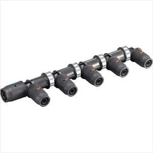 三栄水栓 SANEI  3DJ-P-HDL-7P 樹脂ヘッダー(末端エルボ)7P 3DJ-P-HDL-7P