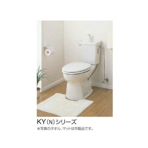 セキスイ 簡易水洗便器 セキスイリブレット KY-D(N) RVK31〇 シリーズ オフホワイト 手洗なし 暖房便座付【関東甲信越以外は送料別途】