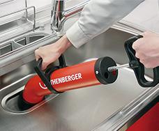 【送料無料】【代引き不可】アサダ(Asada) R72070Y 排水管清掃機 ローポンプスーパープラス
