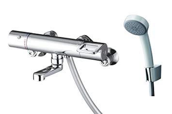 【送料無料】台数限定!TOTO TMGG40SER サーモスタットシャワー金具 壁付きタイプ レバーハンドル メタル 洗い場専用 短尺 逆止弁 エアインTMGG40SEの後継機種