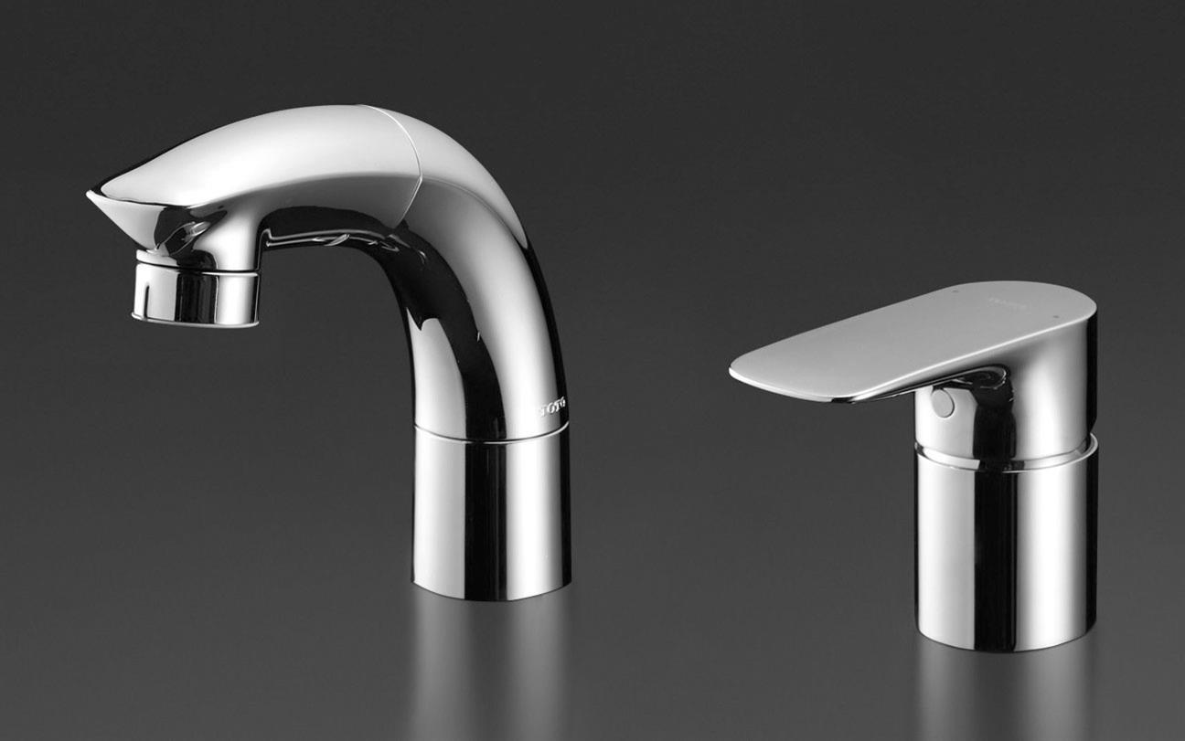 【送料無料】TOTO TLG05301Z 台付シングル混合水栓(エコシングル、ハンドシャワー、エアイン)寒冷地用【洗面所用水栓】TLNW36EZの後継機種となります