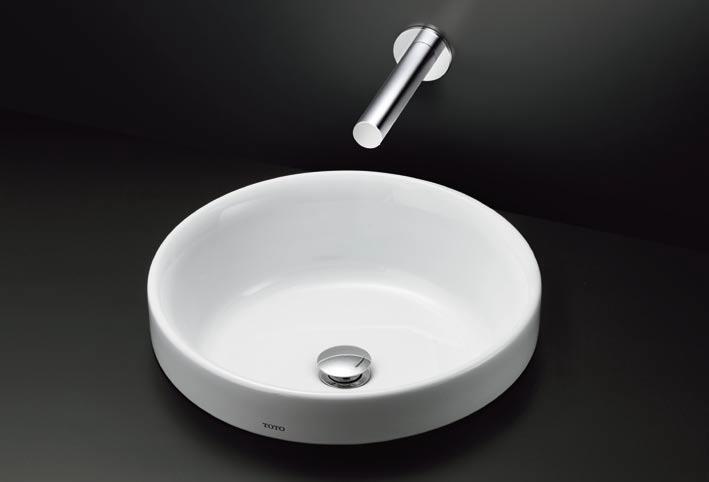 【地域により別途送料有】TOTO LS703#NW1+TENA13AL+T6PM1 ベッセル式洗面器+水栓金具+壁排水金具のセット