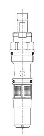 TOTO TH698-1R 自閉バルブ部(リリーフ式)