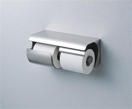 TOTO YH150RS  スペア付紙巻器(横型両減り防止タイプ) 300×137×136  ステンレス製