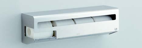 TOTO YH163RS スペア付紙巻器(横型ロングタイプ)505×140×163 ステンレス製 かぎ付き ペーパーホルダー おしゃれ