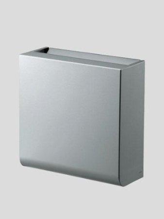 TOTO YKB104 チャームボックス(汚物入れ)300×120×310 容量:6L 亜鉛めっき鋼板[アルミ調塗装仕上げ]壁固定式
