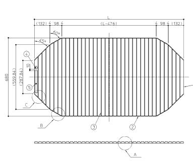TOTO 風呂フタ シャッター式風呂蓋楕円1300用 EKK84145W