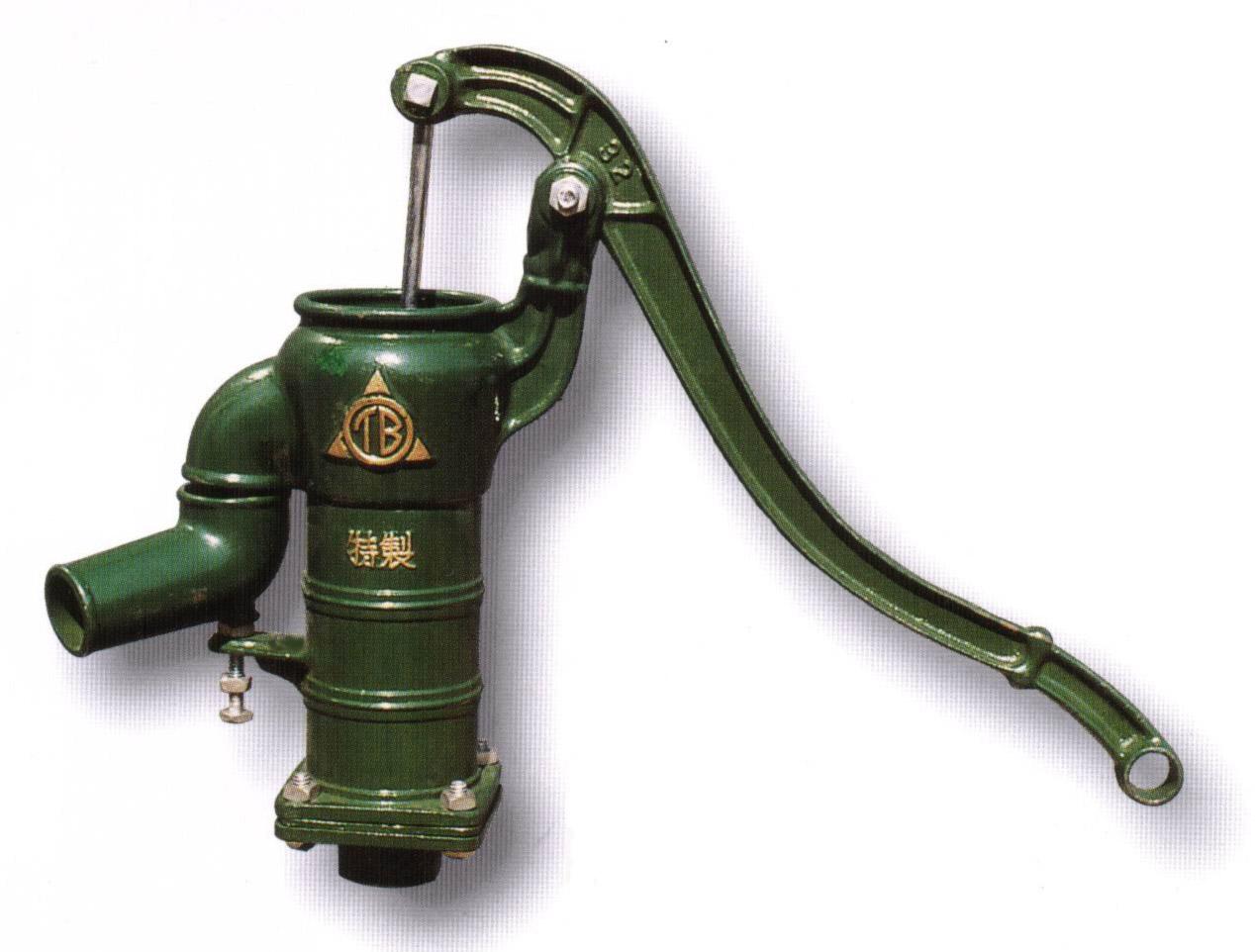 東邦工業 手押しポンプ 打ち込み井戸用 プラ玉ピストン方式 T32PU