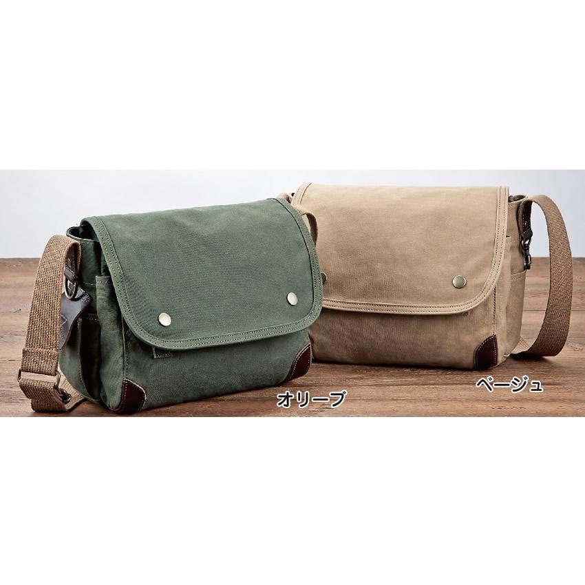 豊岡鞄 帆布ミニショルダーバッグ