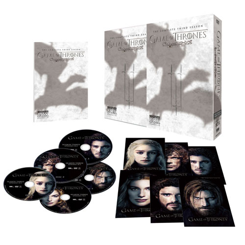 ゲーム・オブ・スローンズ 第三章 戦乱の嵐<前編>DVD5枚