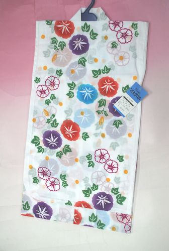 【送料無料】女児浴衣 貴重なジュニア浴衣 9~10歳浴衣 130浴衣  日本製!