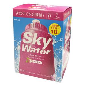 Sky Water スカイウォーター 効率的スポーツドリンク 日常の水分補給に 熱中症対策に 超人気 専門店 ライチ味 ×5個 1L用×2袋 年中無休 クラシエ