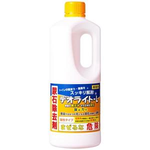 尿石を酸の力で素早く溶かして取り除く業務用トイレ洗浄剤 人気海外一番 デオライトL _ 送料無料限定セール中 1kg
