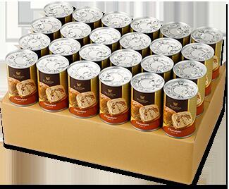 ◆ボローニャ 缶deボローニャ【チョコ】 24缶セット 3年保存